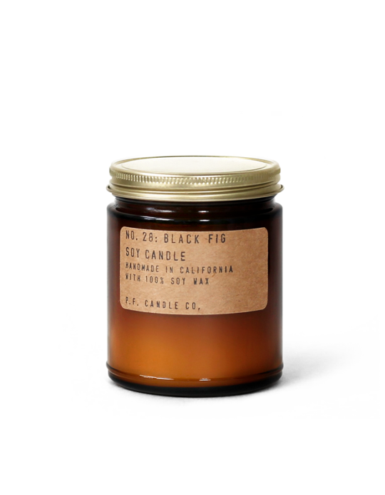 NO. 28: Black Fig - 7.2 oz Soy Candle