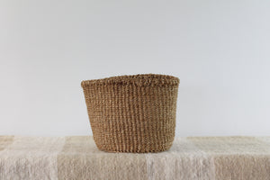 Tan Sisal Basket