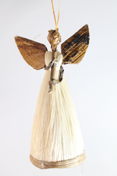 Grass Angel Ornaments