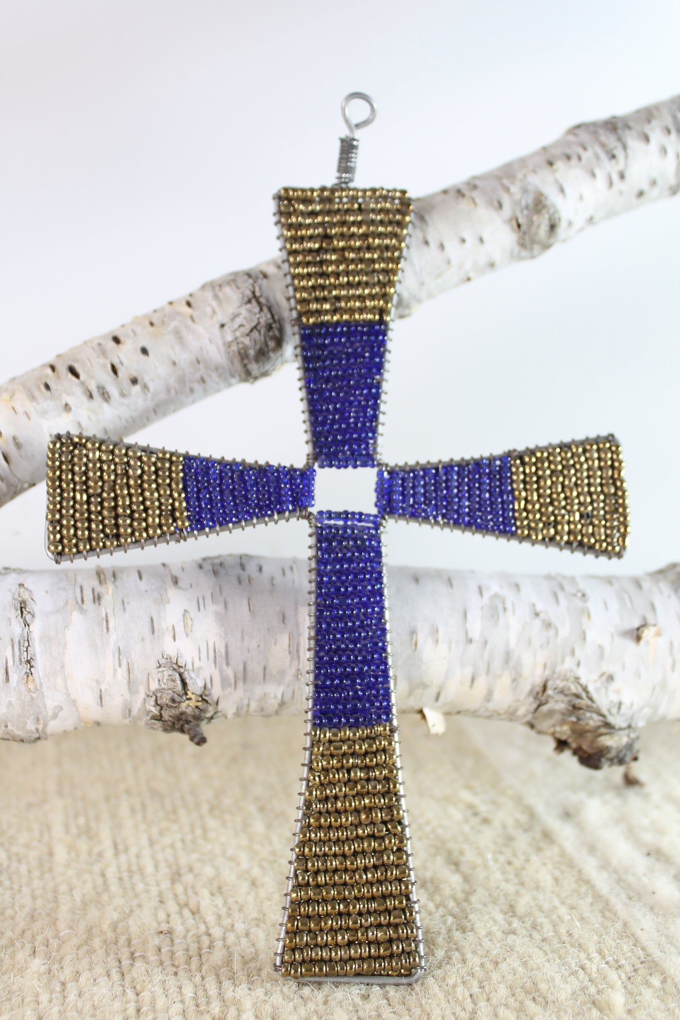 Maasai Beaded Cross