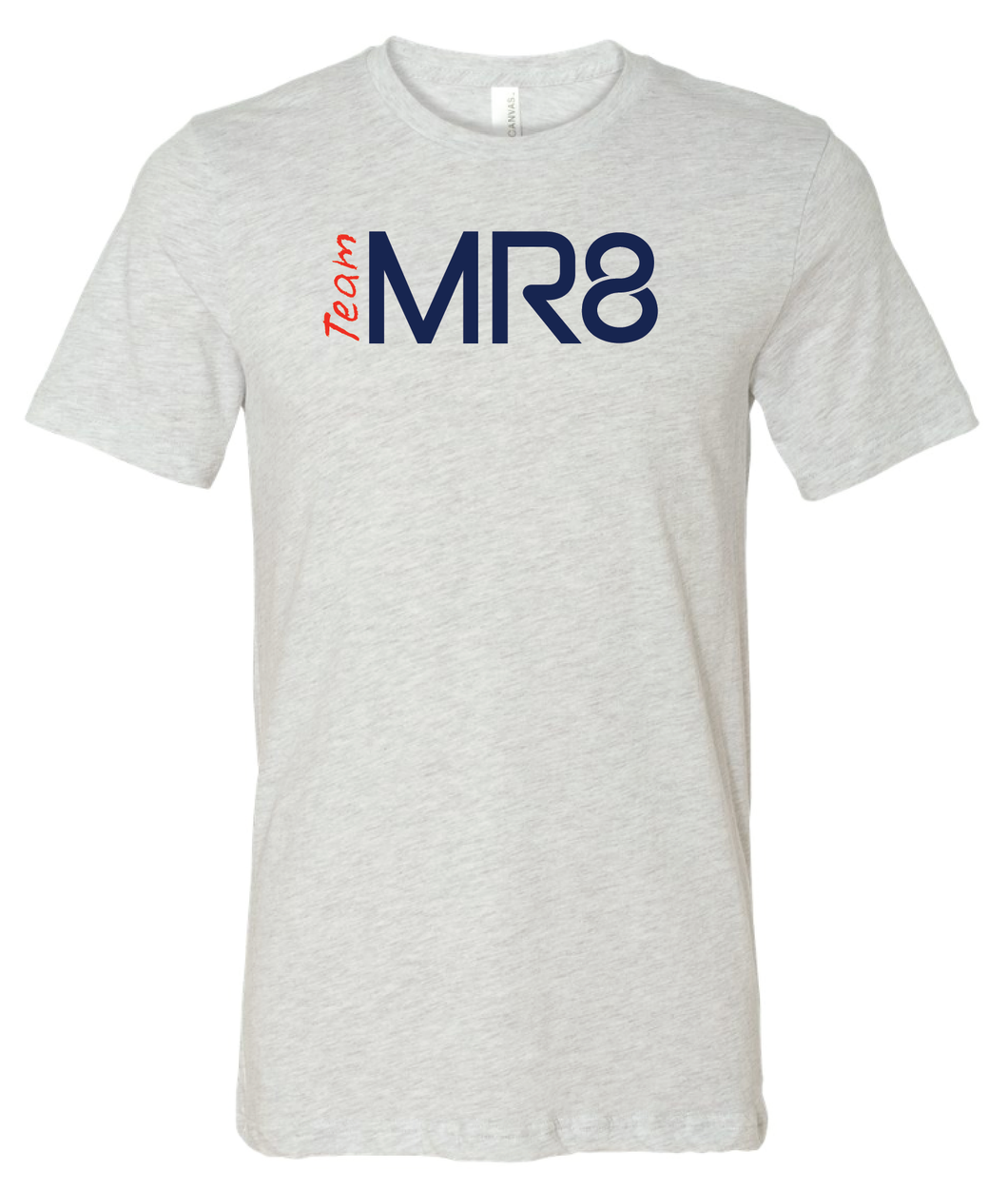 Team MR8 Short Sleeve - Ash Grey