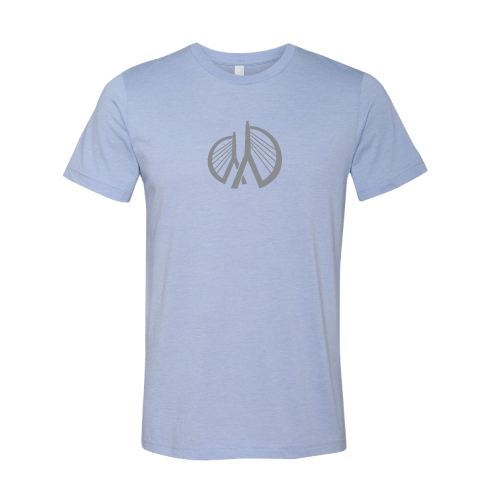 MRF Official Foundation Short Sleeve - Light Blue