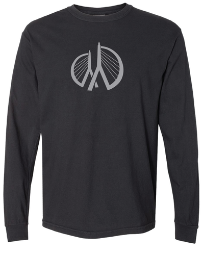 MRF Official Foundation Long Sleeve - Heather Black