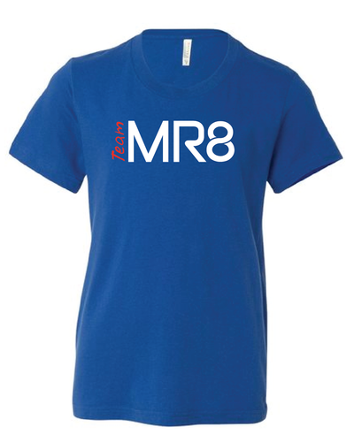 Youth Team MR8 Short Sleeve - Heather Blue