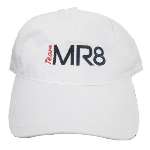 Team MR8 Baseball Cap - White