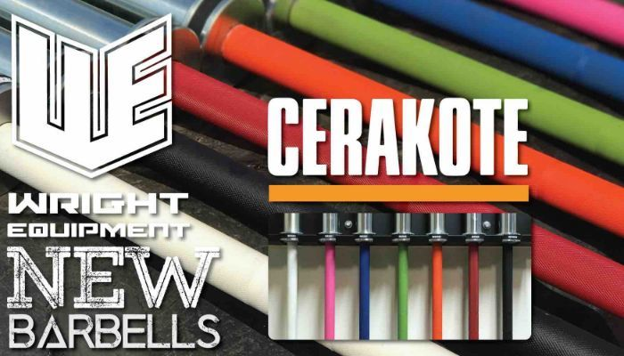We Have a New Barbell! It's Cerakoted.