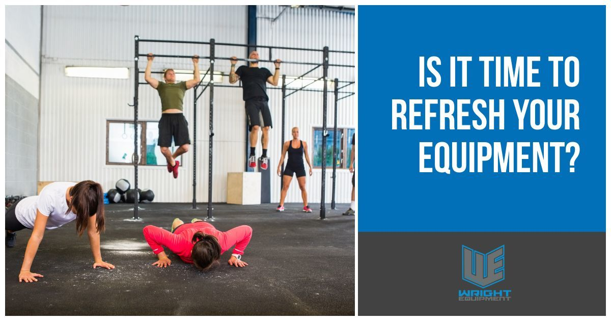 Is it Time to Refresh Your Gym Equipment?