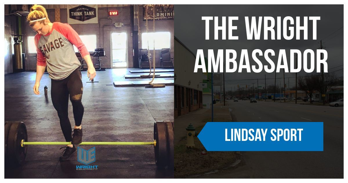 The Wright Ambassador: Lindsay Sport