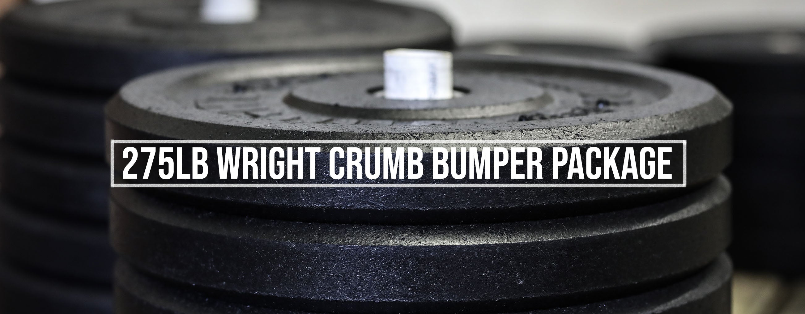 Wright Equipment 275lb crumb bumper set