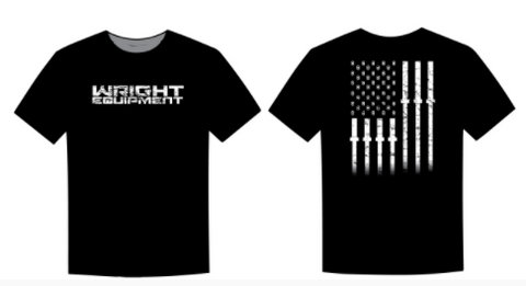 Weightlifting Stars & Stripes Tee