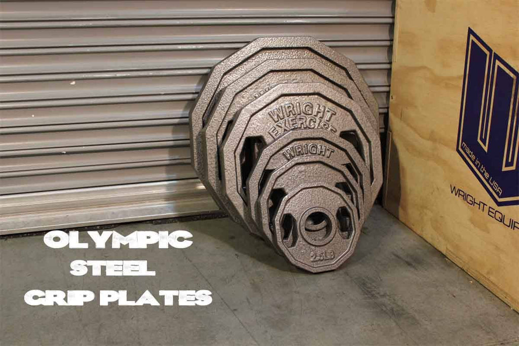 Olympic Steel Grip Plates