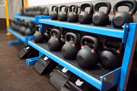 Kettlebell/Dumbbell Rack (6-8 week production time)