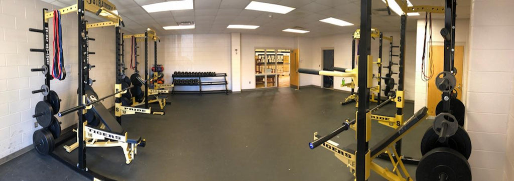 Straughn High School, AL Auxiliary Weight Room