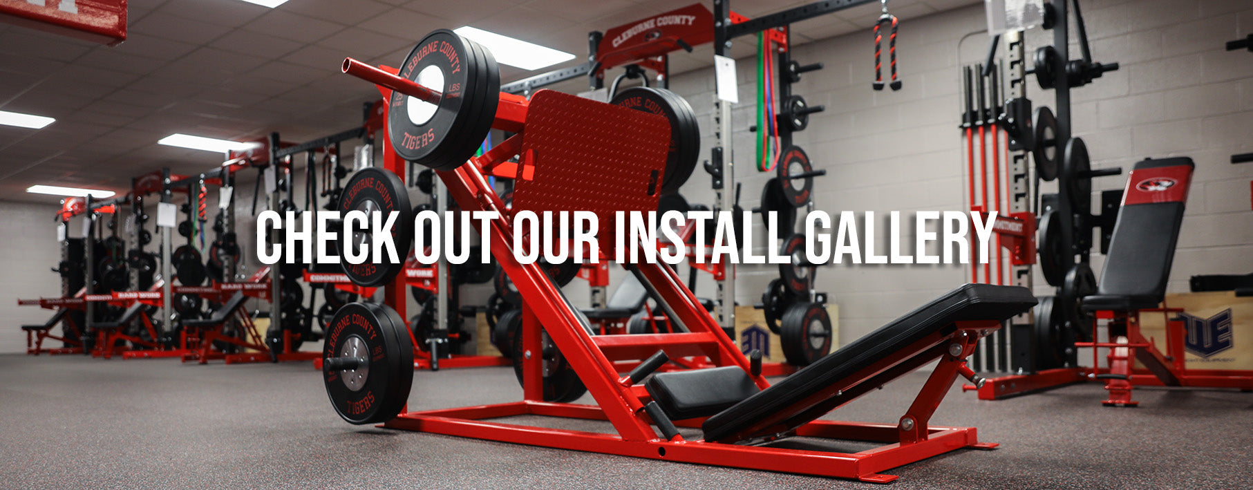 Cleburne County High School Weight Room