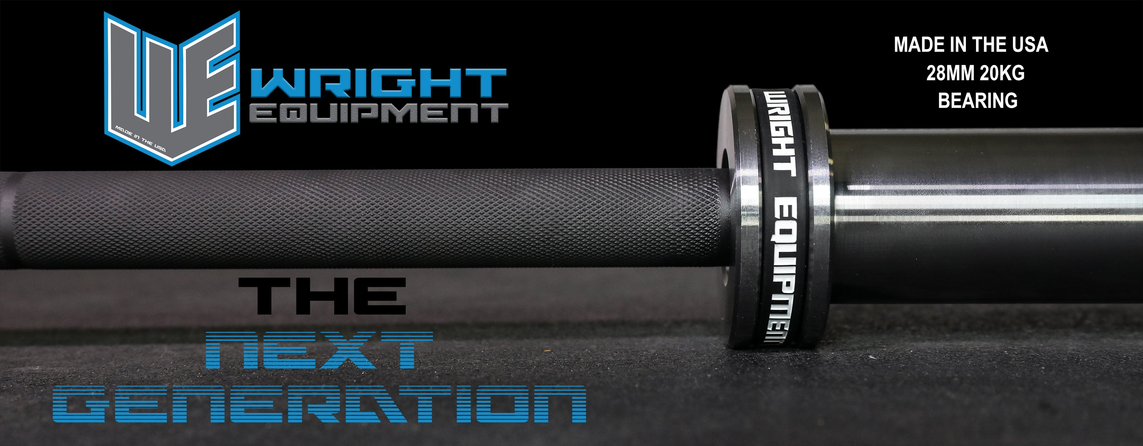 Wright Equipment Next Gen Barbell