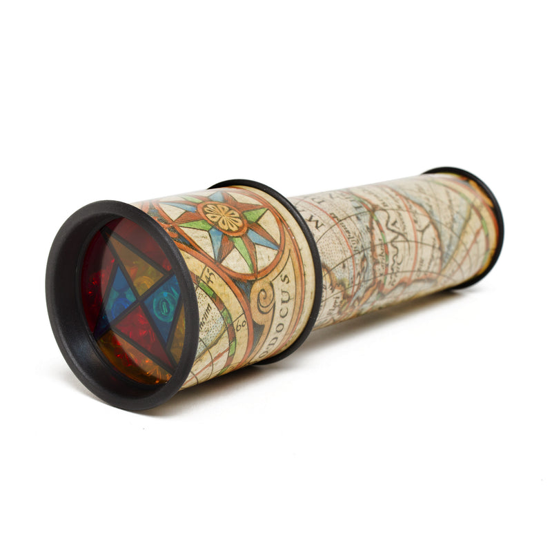 Old World Map Kaleidoscope