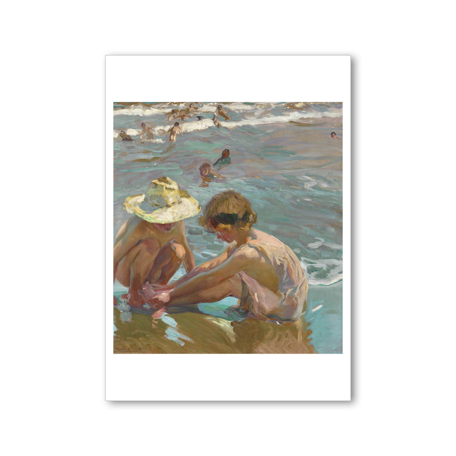 Sorolla - <i>The Wounded Foot</i> - Postcard
