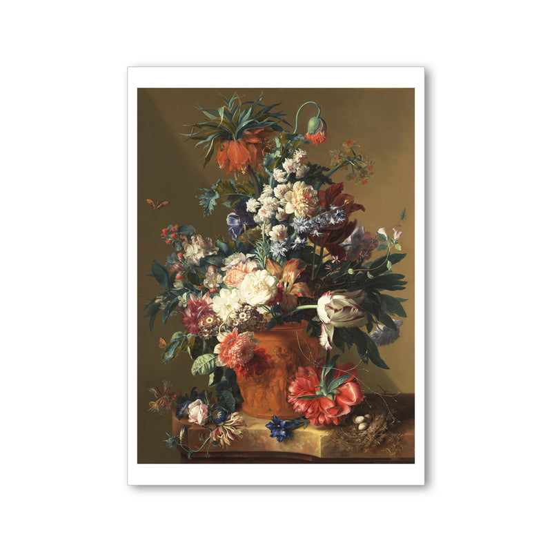 Van Huysum - <i>Vase of Flowers</i> - Postcard