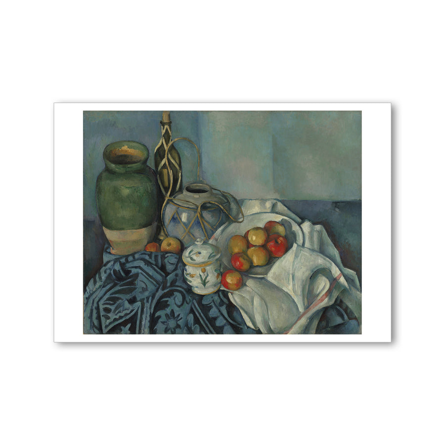 Cezanne - <i>Still Life with Apples</i> - Postcard