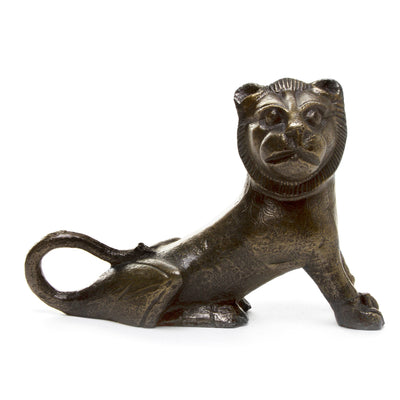 Replica Statuette of a Seated Lion