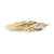 Laurel Leaf Barrette - Gold Plated