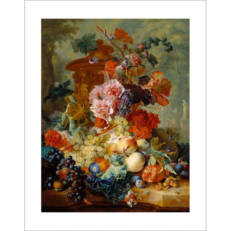 "Van Huysum - <i>Fruit Piece</i> 11"" x 14"" Print"