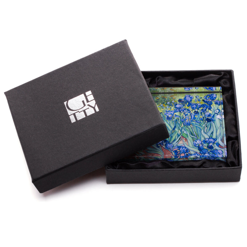 Van Gogh <i>Irises</i> Boxed Paperweight