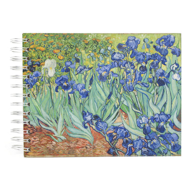 Van Gogh Irises Sketchbook