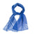Sunprint Silk Scarf - Blue