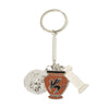Getty Villa Charm Keychain