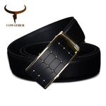 COWATHER Appointed Black Automatic Buckle