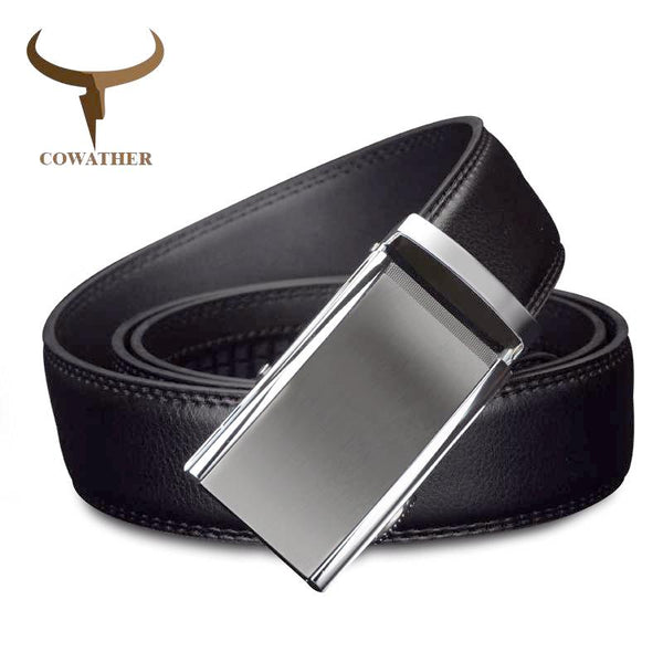 COWATHER 2017 Clean Design Black Auto Buckle