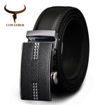 COWATHER Genuine leather belt Model 37