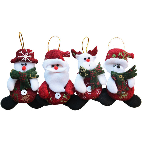 24 pcs Christmas Tree Ornaments - Abbey and Holmes Global Emporium