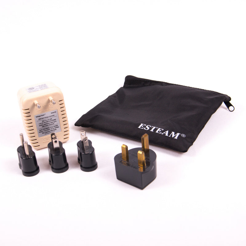 ESTEAM® Travel Converter and Adaptor Plugs