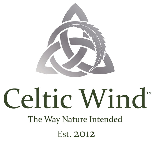 Celtic Wind cold pressed Oil logo. CBD Ireland