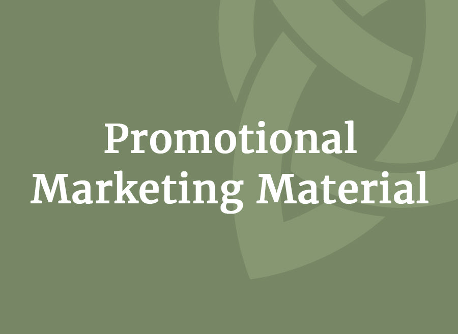 Promotional Marketing Material
