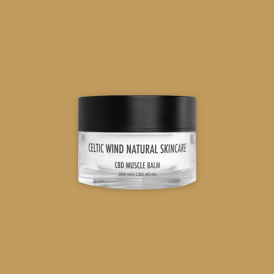 CBD Skincare 300MG Muscle Balm - Celtic Wind Crops