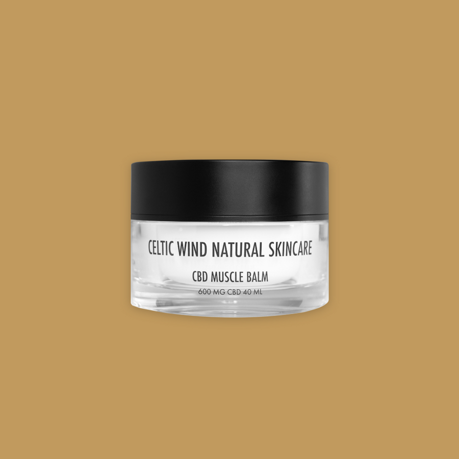 CBD Skincare 600MG Muscle Balm - Celtic Wind Crops