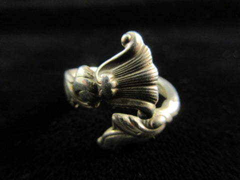 Sterling Silver Size 8 Spoon Ring Vintage