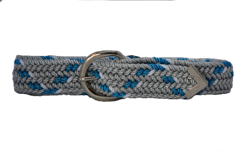 Women's Western Woven Belt with D Ring Buckle