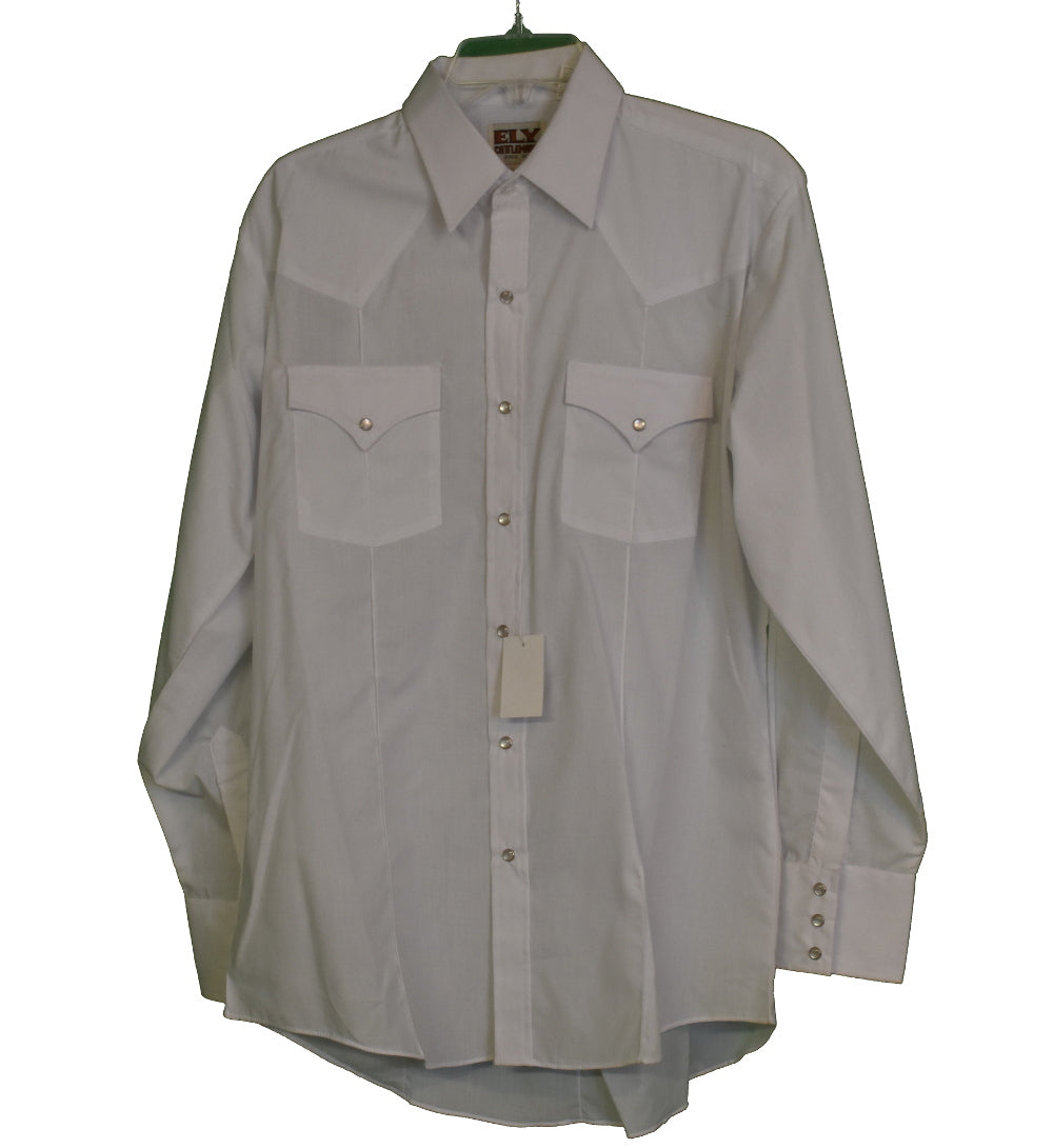 Ely White Dress Shirt 16/34