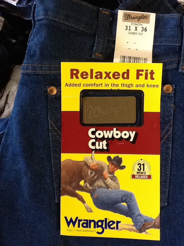 Wrangler Relaxed Fit Cowboy Cut