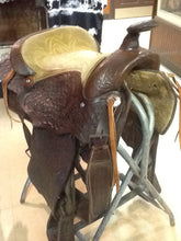 "17"" Western Saddle Used"