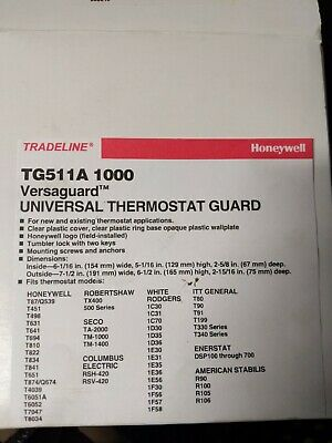 Honeywell TG511A 1000 Versa Guard