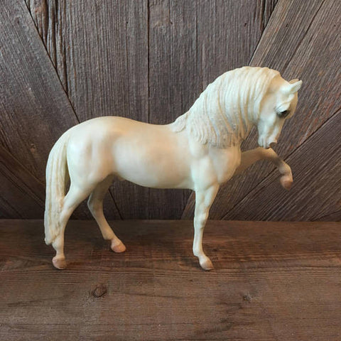 Breyer White Andalysian Horse Brand CH