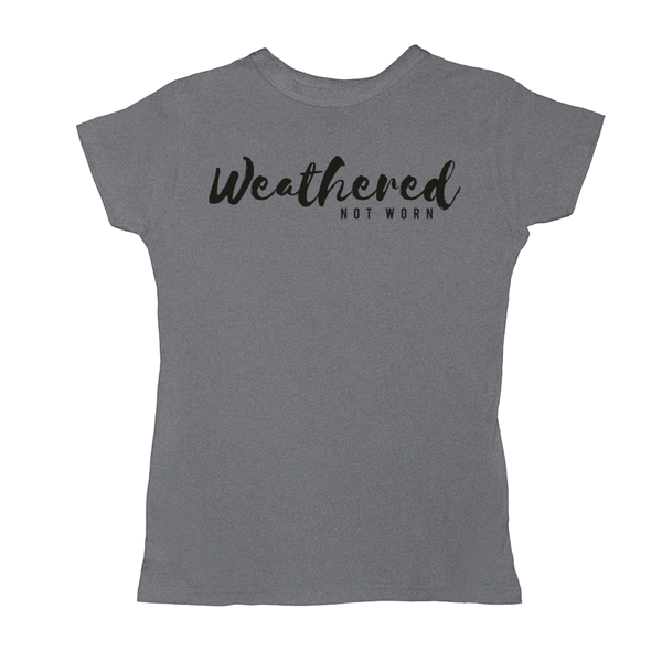 WNW Women's Slim Fit Tee (Black Logo)