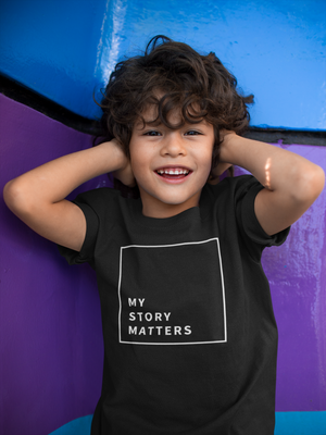 Open image in slideshow, My Story Matters (Toddler Tee)