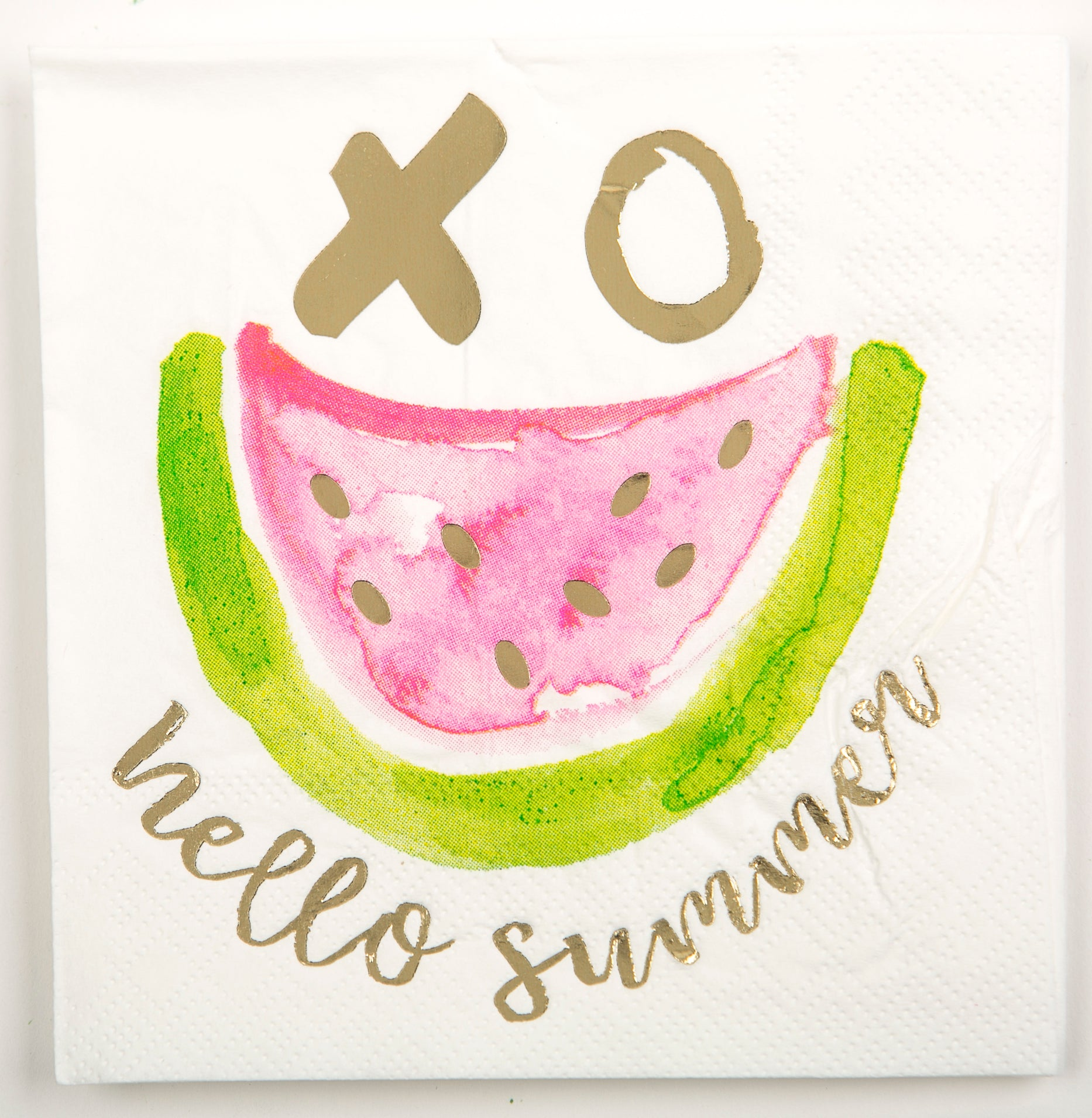 Beverage Napkin - Hello Summer