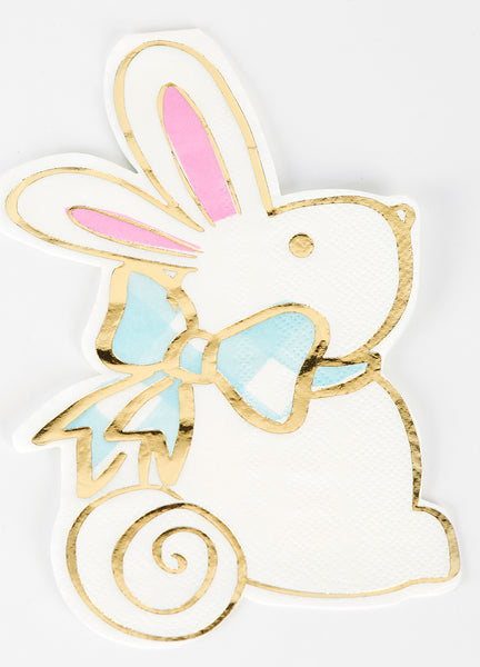 Beverage Napkin - Rabbit
